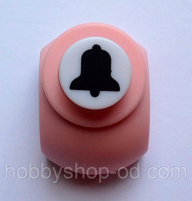 Дырокол фигурный Колокольчик  кнопка 1,8 см