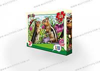 """Пазлы 120 эл. (8шт.) Лео Люкс """"Любимые животные"""", 8шт в блоке, 12 блоков в упаковке, 96(351)"""