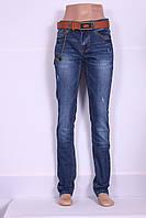 Женские джинсы  I.D.O ( код 05-737) больших размеров с высокой посадкой узкие