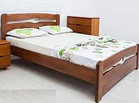 Кровать односпальная Каролина с изножьем (бук) 800/900х2000 мм