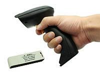 2.4G Бездротовий Сканер штрих-кодів лазерний 100м