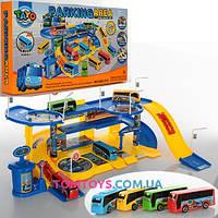 Игровой набор Паркинг для автобусов Тайо Parking area 660-210