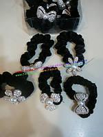 Резинка для волос BIG7835 микрофибра 12 шт