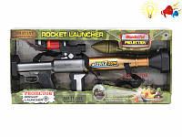 """Автомат """"ROCKET LAUNCHER"""" (арт. SA931-B11), батарейки,свет,звук, 49x7x23см Jambo 100956083"""