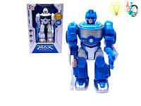 Робот MAX ROBOT (арт. 7M-413), батарейки,свет,звук, 16x11x24см Jambo 100847196