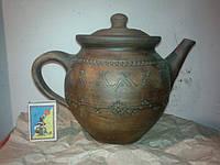Чайник керамічний ручної роботи