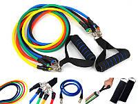 Набор эспандеров для фитнеса (5 рез.жгутов ) Power Bands