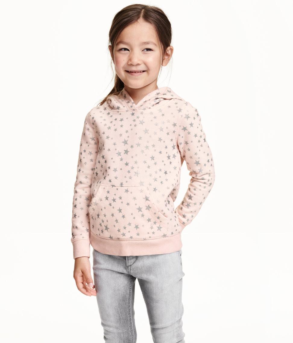 Худи-пуловер на девочку 8-10 лет