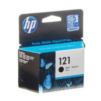 Картридж струйный HP для DJ D2563/F4283 HP 121 Black