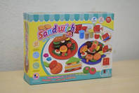 Набор для творчества-пластилин Sandwich 8102-B