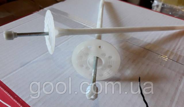 Дюбель с термоголовкой для минеральной ваты и пенопласта Wkret-Met 10х300 мм.