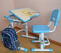 Комплект детская парта и стул растущие, полка.