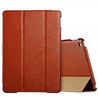 Чехол Icarer Litchi Series для iPad Air 2 коричневый