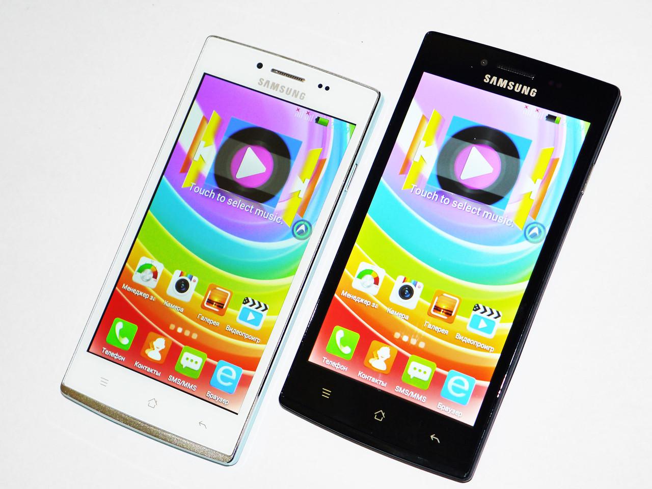 Телефон Samsung F7 - 2 сим, 2 батареи, 2 ядра, 5 Мп+ чехол, фото 1