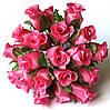 Розы из ткани