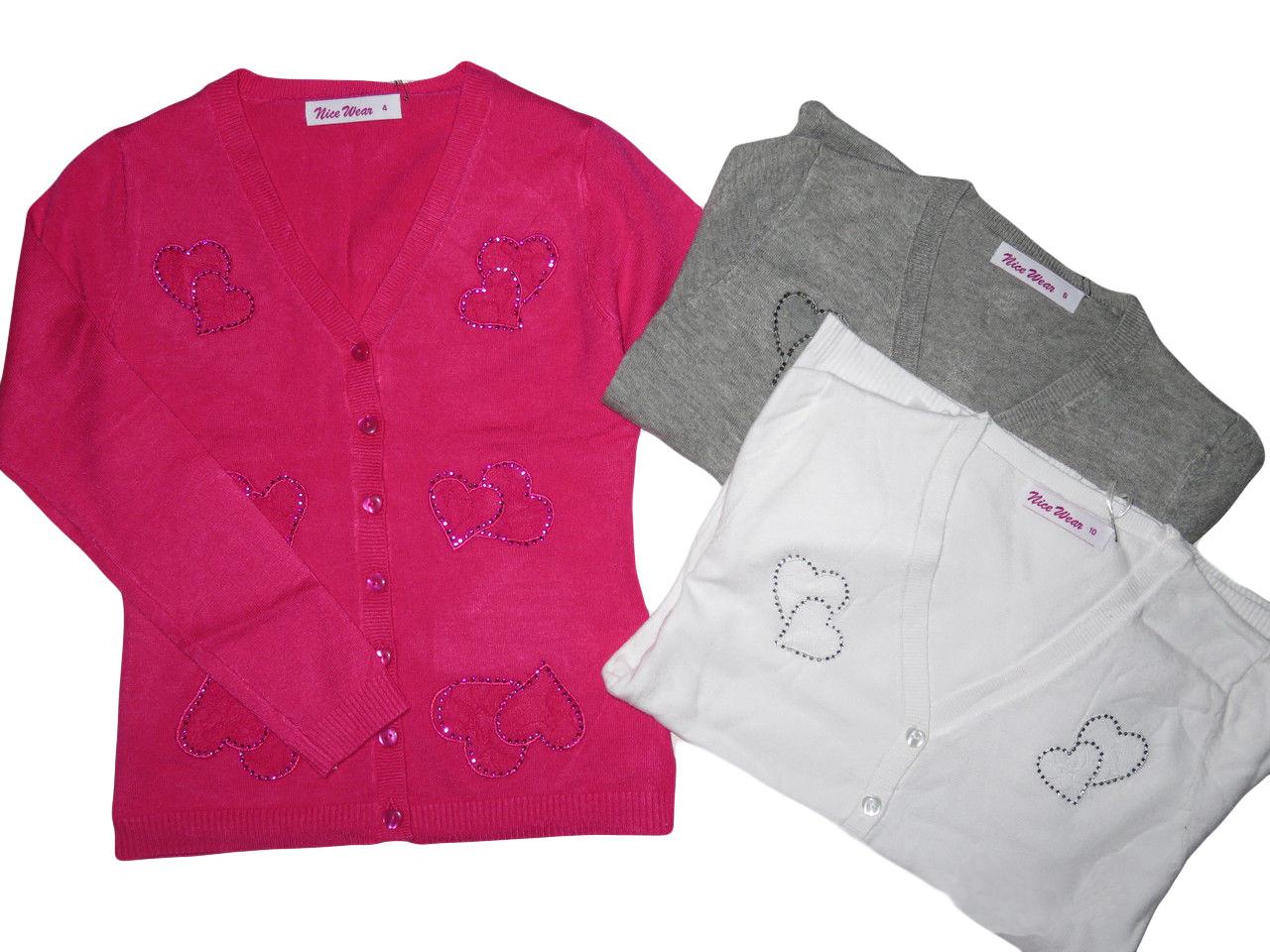 Свитер для девочек оптом, размеры  4-12 лет, Nice Wear, арт. GJ 840