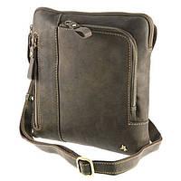 Мужская сумка планшет Visconti 15056 Roy (Oil Tan) Коричневая