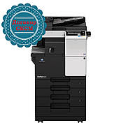 Konica Minolta bizhub 227, монохромное МФУ, А3, 22 стр./мин, копир, сетевой принтер, сканер + СКСМ