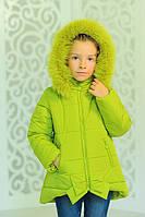Детская зимняя парка для девочки