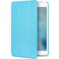 Чехол Hoco Cube series для iPad mini4 голубой