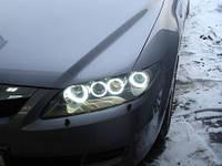 Ангельские глазки CCFL Mazda 6, Мазда 6