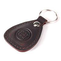 Брелок для автомобиля кожаный с логотипом Fiat (Фиат) 540-07-28