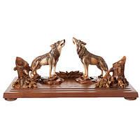 Набор на стол руководителя Волки M3101