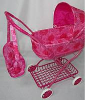 Детская коляска для кукол с сумкой