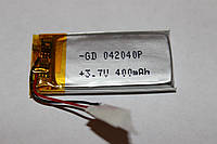 Аккумулятор литий-полимерный (литий-ионный) 042040P(402040) 3.7V 400mAh