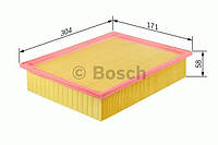 Воздушный фильтр BOSCH: MERCEDES-BENZ  SPRINTER 2-t c бортовой платформой(901, 902), автобус (901, 902),  фург