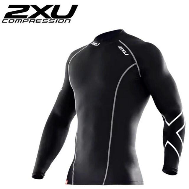 Рашгард 2XU (компрессионная мужская футболка с длинным рукавом)