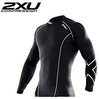 Рашгард 2XU (компрессионная мужская футболка с длинным рукавом), фото 1