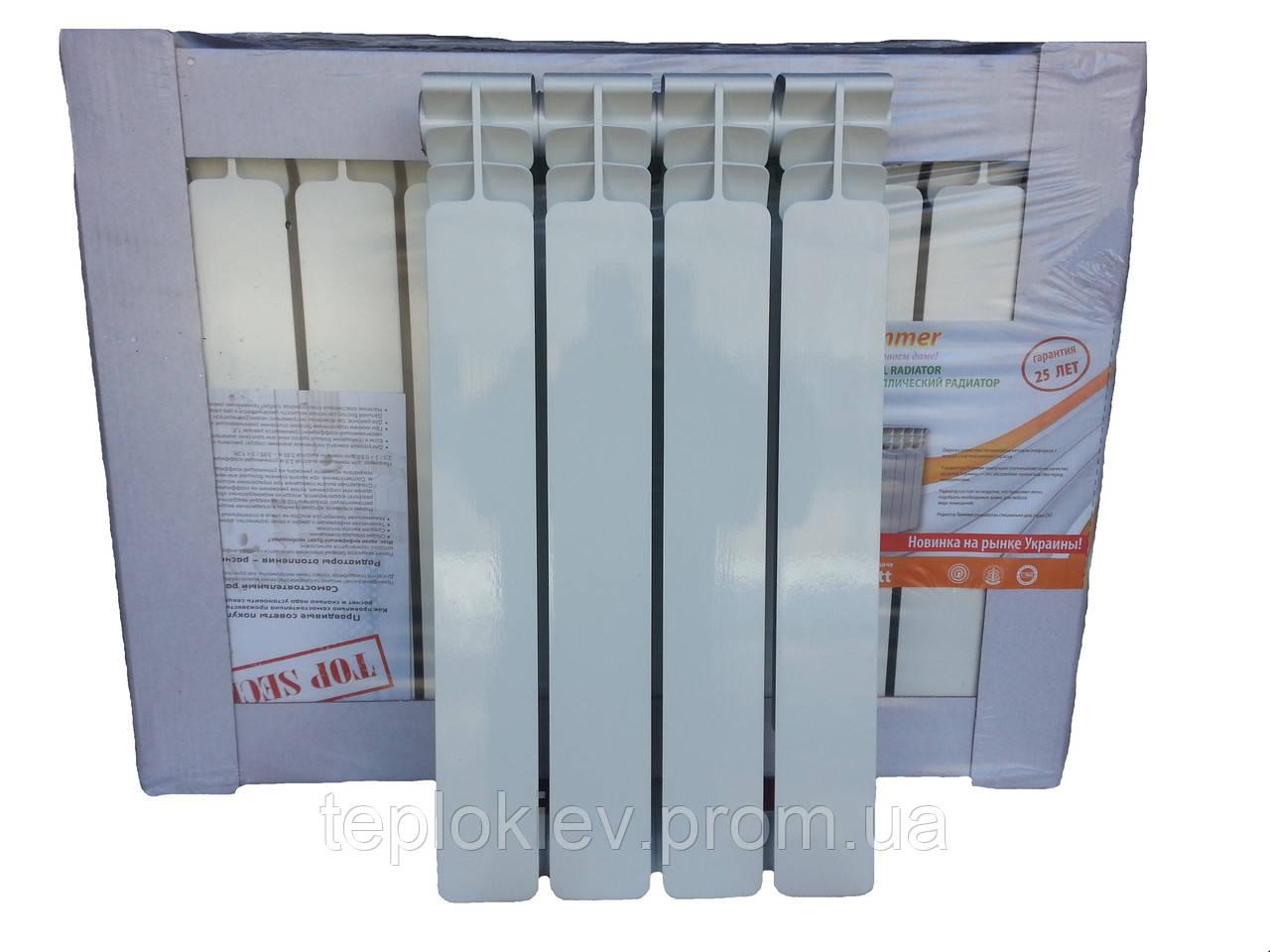 Радиатор биметаллический Мирадо 500/76 30 бар (Summer) - «ТЕПЛОКИЕВ» Всё для отопления и водоснабжения в Киеве