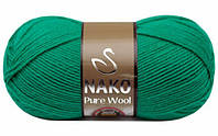 Nako Pure Wool - 1130 изумруд