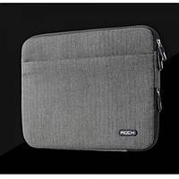 Чехол Rock Zip Sleeve для iPad Pro серый