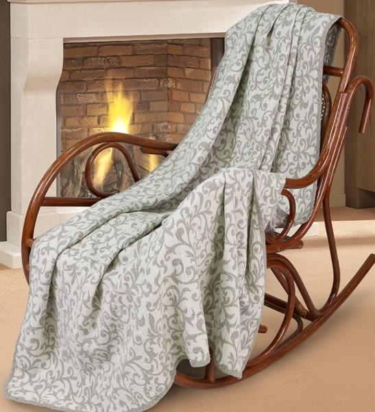 Уютный и комфортный плед из натуральной льняной ткани !