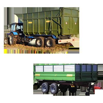 Запчасти к тракторным прицепам