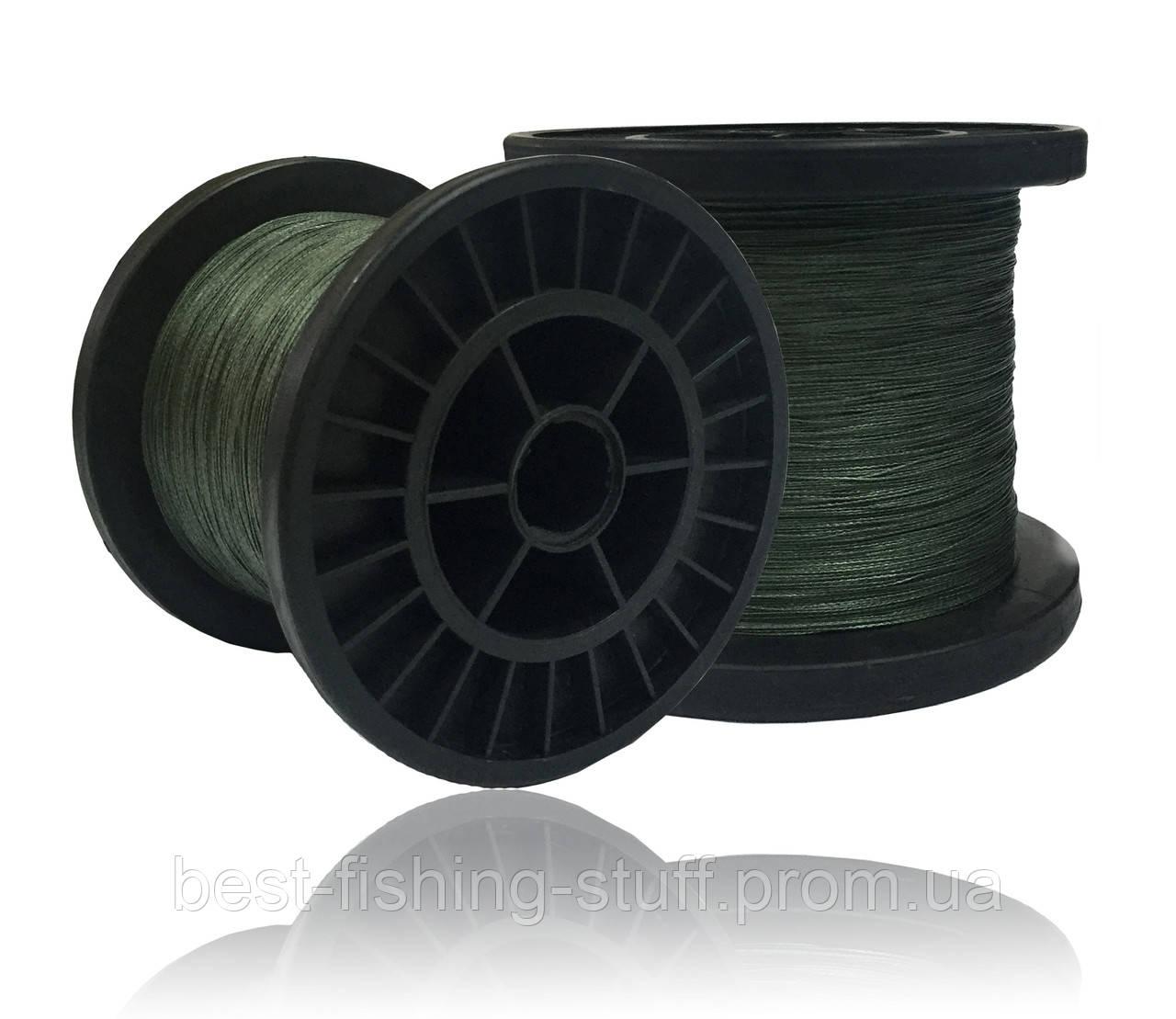 Шнур BLACK WIDOW - GREEN 1000M 0.45-0.5мм