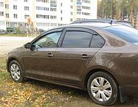 Ветровики VW Jetta с 2010→ / комплект 4шт.