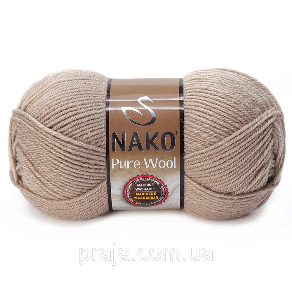 Nako Pure Wool - 257 беж