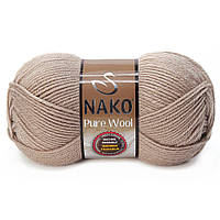 Nako Pure Wool - 257 беж