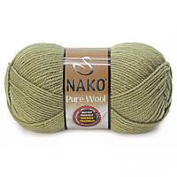 Nako Pure Wool - 268 оливка