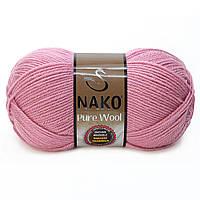Nako Pure Wool - 275 розовый