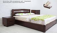 Кровать двуспальная Каролина с подъемным механизмом (бук)