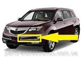 Acura MDX 2010-14 накладка на передний бампер на решетку новая оригинальная
