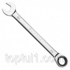 Ключ комбинированный TOPTUL AOAF1010  10 мм с трещоткой