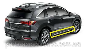 Acura RDX 2013-17 хромовые молдинги накладки под двери новые оригинальные