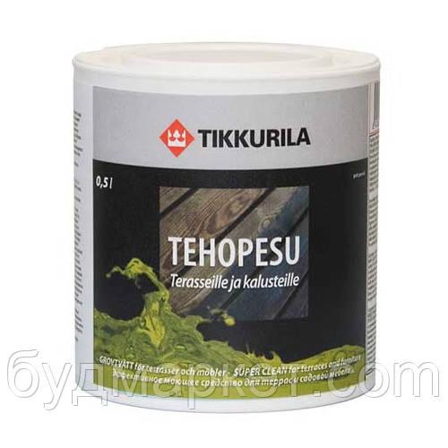 Средство моющее Техопесу для внутренних и наружных работ Тиккурила 0,5 л (на 15 кв.м)