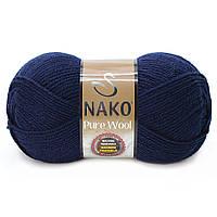 Nako Pure Wool - 2418 темно синий