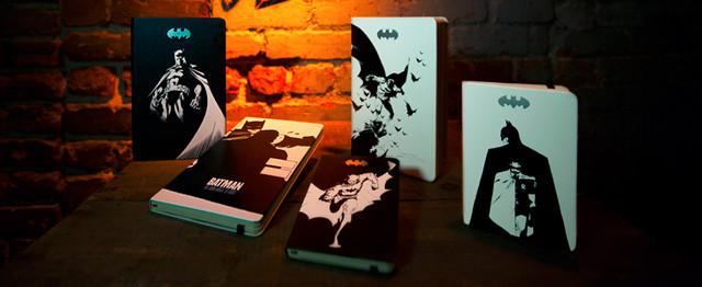 Блокнот Moleskine Batman (Бэтмен) | Карманный Белый в Линейку